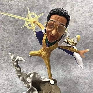 HSPHFX ONE PIECE - Borsalino Model, 21.5 Cm World Government Pacifist Justice General Figurine, Release Pika Pika No Mi Bl...