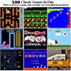 HMEDA Consola de Juegos Portátil, Juegos Electrónicos Portátiles 3 Pulgadas 500 Juegos Retro FC Game Player Consola de Juegos y Conexión de TV con Batería Recargable de 1020 mAh, Azul #2