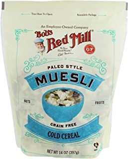 Bob's Red Mill | Grain Free Cold Cereal | Paleo Style Muesli | Real Dried Fruits | 14 OZ