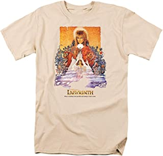 Popfunk Labyrinth David Bowie Goblin King Movie T Shirt & Exclusive Stickers