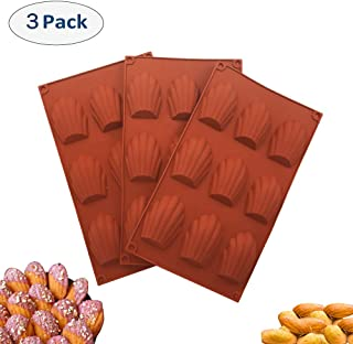 Best madeleine silicone mold Reviews