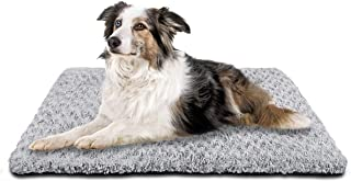 SIWA MARY Dog Bed Crate Pad Mat 30/36/42 in Anti Slip Washable Mattress Pets Kennel Pad for Large Medium Small Dogs Sleeping