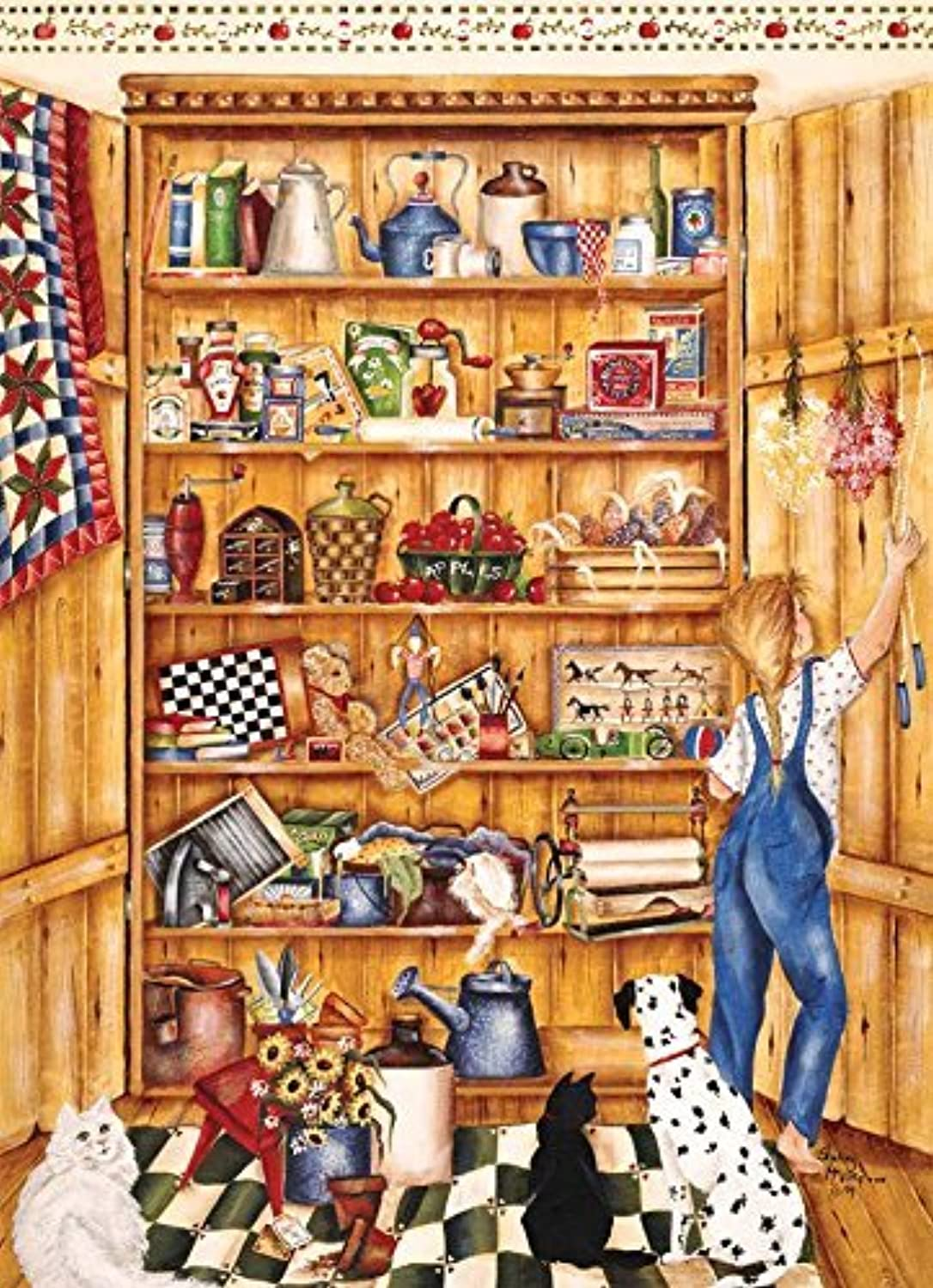 ahorrar en el despacho Pine Pantry, A 1000 Piece Piece Piece Jigsaw Puzzle by Cobble Hill by Cobble Hill  encuentra tu favorito aquí