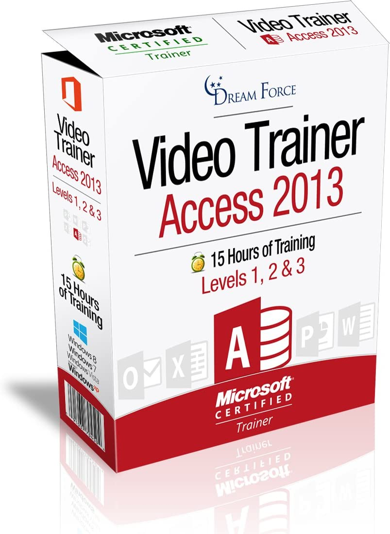 Selling rankings Access 2013 Japan's largest assortment Training Videos - 15 of Hours b training
