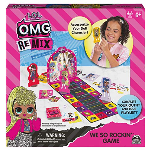 L.O.L. Surprise! O.M.G. Remix We So Rockin' Game $7.49 @ Amazon w/ Prime or Target Pickup