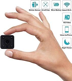 كاميرا خفية بدقة 1080 بكسل عالية الدقة مصغرة تجسس كاميرا لاسلكية صغيرة صغيرة الحجم كافر حماية كاميرا كاميرا فيديو مراقبة و...