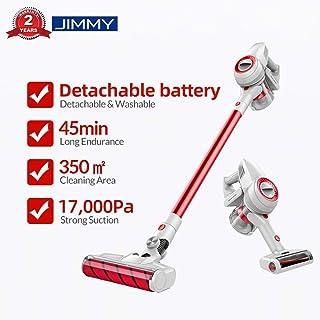 JIMMY Xiaomi JV51 Aspirador escoba, Aspirador sin cable, Aspirador 4 en 1 (Potencia de succi?n de 17,000 Pa, bater?a desmontable, Autonom?a hasta 45 min, Ruido Bajo)
