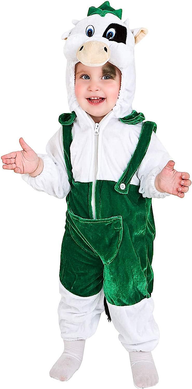 Carnevale Venizano CAV60798-1 - Plüschkostüm MUCCA Carlotta - Alter  1-4 Jahre - Gre  1