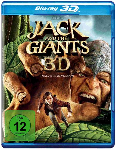 Jack and the Giants 3D (inkl. 2D Version) [Blu-ray 3D]