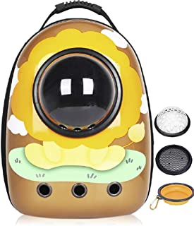 LucaSng Cat Backpack Carrier Bubble Bags,Space Capsule Design Cat Travel Carrier,Airline Approved Pet Backpack,Cats, Puppi...
