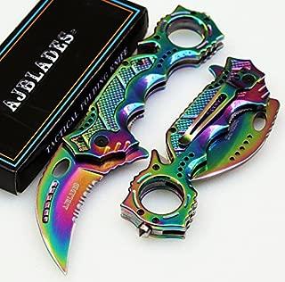 tactical titanium knife