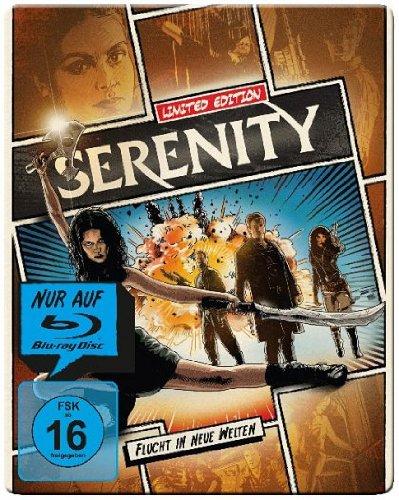 Serenity - Flucht in neue Welten - Limited Steelbook Edition (Blu-ray)