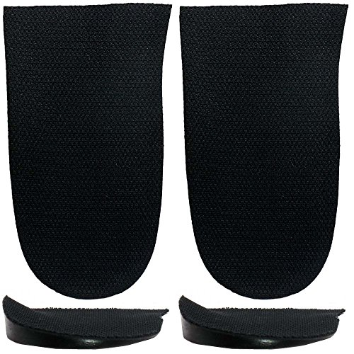 Pronation, Supination Heel Wedges for Knock-Knees, Bow Legs Sold Individually - Cleat Wedges (2 Lefts(Fabric Topped))