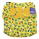 Bambino Mio, miosoft windelüberhose, tropischer tukan, Größe 1 (