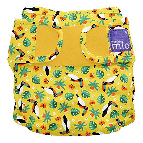 Bambino Mio, mioduo Windelüberhose, Tropischer Tukan, Größe 1 (<9kg)