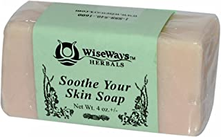 WiseWays Herbals Eczema Care Bar 4 Ounces