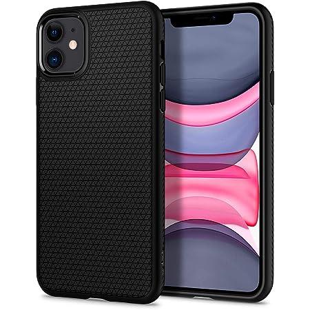 Spigen Liquid Air Back Cover Case Compatible with iPhone 11 (TPU | Matte Black)