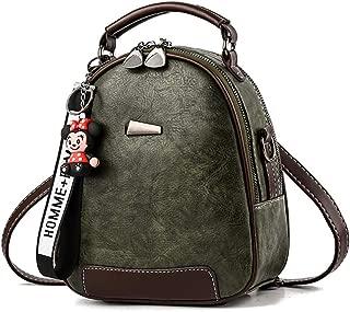 COAFIT Women's Mini Backpack Vintage Top Handle Shoulder Bag for Travel