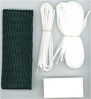 Jimalax Lacrosse Soft 10 Diamond Attack Mesh Full Stringing Kit