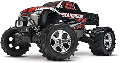 Traxxas Stampede 4X4: 1/10 Scale 4wd Monster Truck with TQ 2.4GHz Radio, Black