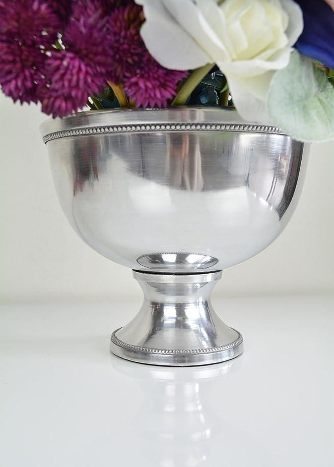 Afloral Silver Metal Revere Centerpiece Bowl - 5.75
