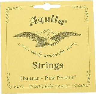 Aquila New Nylgut - Cuerdas para Ukelele de Concierto 8U Low-G GCEA. Con baja G 4ª cuerda