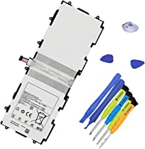 BOWEIRUI SP3676B1A(1S2P) (3.7V 25.90Wh) Tablet Battery Replacement for Samsung Galaxy Tab 10.1 GT-P7500 GT-P7510 Tab 2 10.1 GT-P5100 GT-P5110 GT-P5113 SCH-I915 SGH-I497 Note 10.1 GT-N8000 with Tools