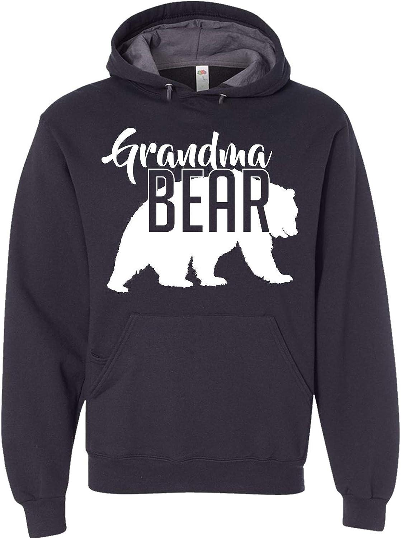 Custom Apparel House Grandma Bear Hoodie Mom Women Soft Hoodie A