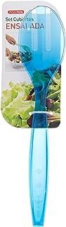 مجموعة سلطة السفرة بلاستيك من البلاستيك، أزرق