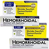 Family Care Hemorrhoidal Ointment with Applicator (2 Pack)
