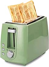 Totasters 2 Tranche de Grille-Pain avec 6 réglage de brunissage réglable Plateau de Miette Amovible Accueil Mini Machine d...