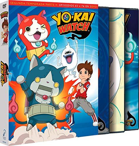 Yo-Kai Watch Temporada 2 Parte 4 Episodios 65 A 76 [DVD]
