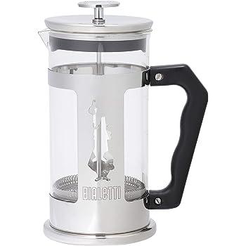 Bialetti Coffeepress French Press Coffee Maker, 8 Cup, Preziosa Stainless Steel