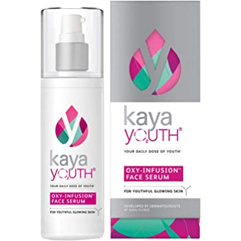 Kaya Youth Oxy-Infusion Face Serum,Boosts Skin Oxygen,Intense skin replenishment,Gives youthful glowing skin,Developed by Dermatologists,50 ml