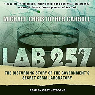 Lab 257 audiobook cover art