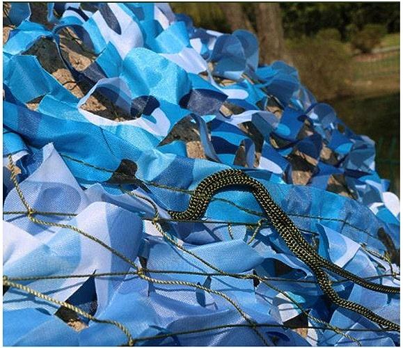 SJMWZB Filet de Camouflage de Tissu Oxford, Camouflage léger Net caché, Chasse Chasse Camping caché caché, Une variété de Tailles et de Couleurs Disponibles (Couleur   B, Taille   6  10m)