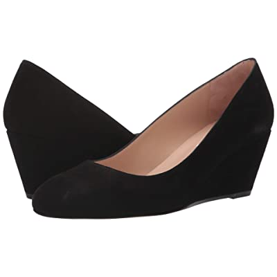 L.K. Bennett Julie (Black Suede) Women