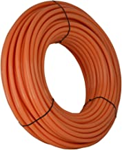 SharkBite U870O500 PEX Pipe 3/4 Inch, Orange, Heat Radiant Barrier, Potable Water, Push-to-Connect Plumbing Fittings, 500 Foot Coil