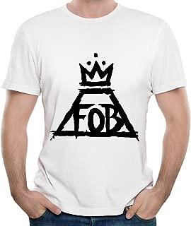 Mens Fall Out Boy Folie A Deux T-shirt White M