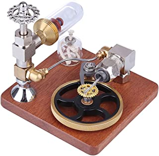 BOYH Modèle de Moteur Stirling Vitesse réglable Moteur à Combustion Externe Machine à Vapeur Jouet éducatif Science Physiq...