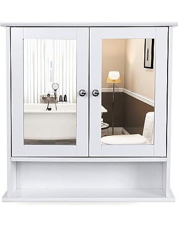 Armarios con espejo para baño | Amazon.es