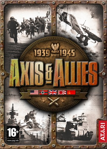 1939-1945 WWII AXIS & ALLIES PC CD-ROM GAME