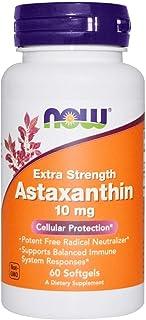 Astaxanthin Extra Strength Carotenoid Antioxidant Eye Health 10 mg 60 Softgels