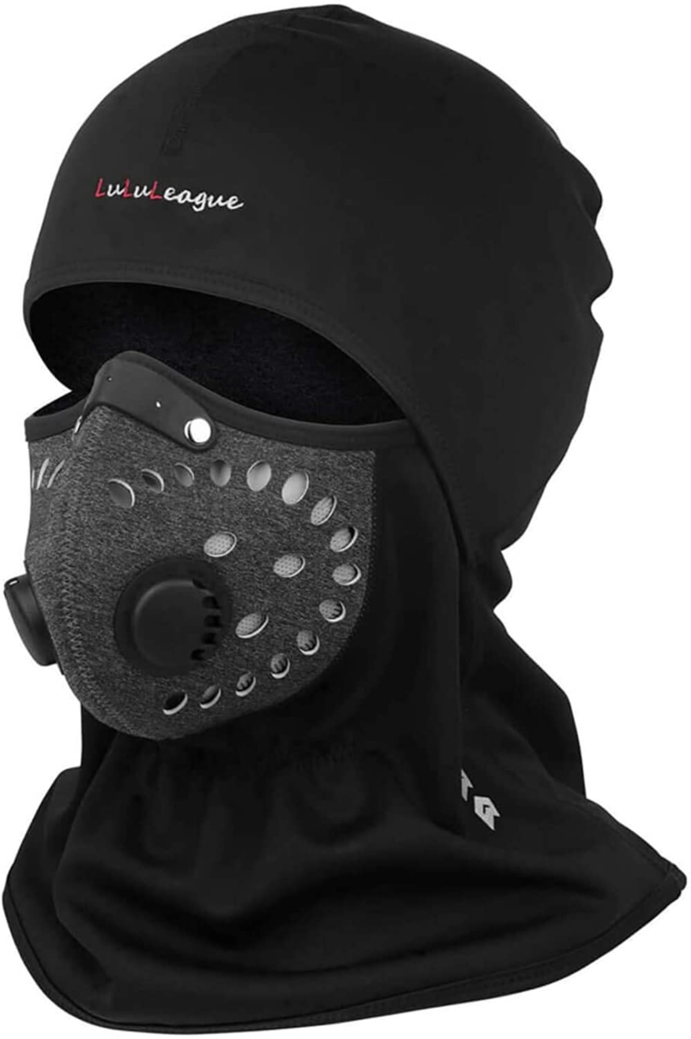Balaclava, Face Mask Men,Winter Face Cover for Women Adjustable Windproof, Winter Balaclava for Motorcycle Riding, Skiing & Snowboarding Black