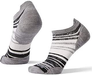PhD Outdoor Light Micro Socks - Women's Striped Wool Performance Sock
