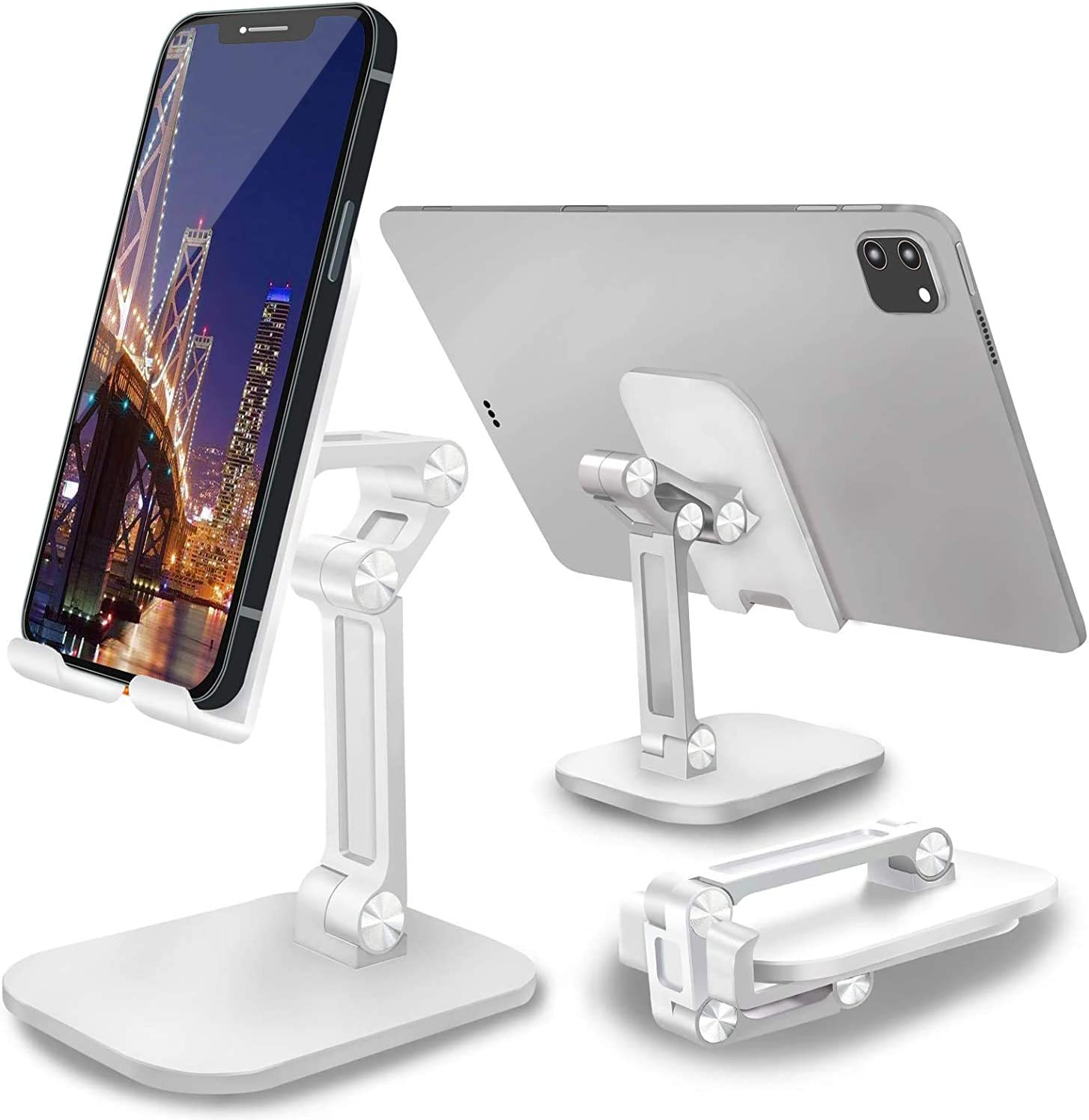 Limited time sale Adjustable Cell Tucson Mall Phone Stand for Desk: Height Angle Fo