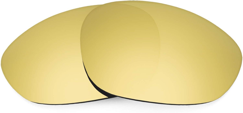 Revant Verres de Rechange pour Oakley X Metal XX - Compatibles avec les Lunettes de Soleil Oakley X Metal XX Or Mirrorshield - Polarisés