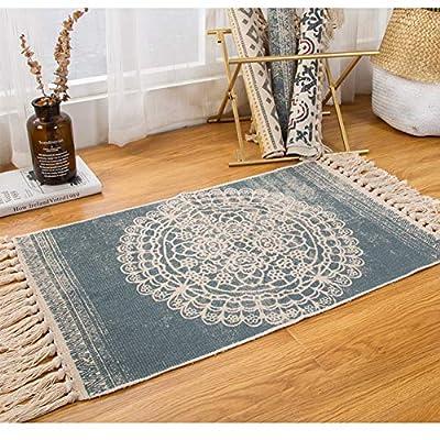 La alfombra es el accesorio de decoración esencial para decorar su interior, para crear un ambiente acogedor, es la solución ideal. Esta elegante alfombra de estilo étnico se adaptará perfectamente a cualquier habitación de tu hogar. Bohemio y autént...