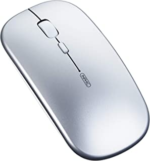 Wireless Mouse, Inphic Slim Silent Click Rechargeable 2.4G Wireless Mice 1600DPI Mini Optical Portable Travel Cordless Mou...