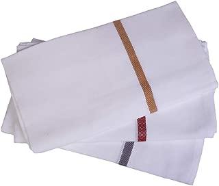 ANGEL HOME Premium Indian Bath Towels (Set/3)